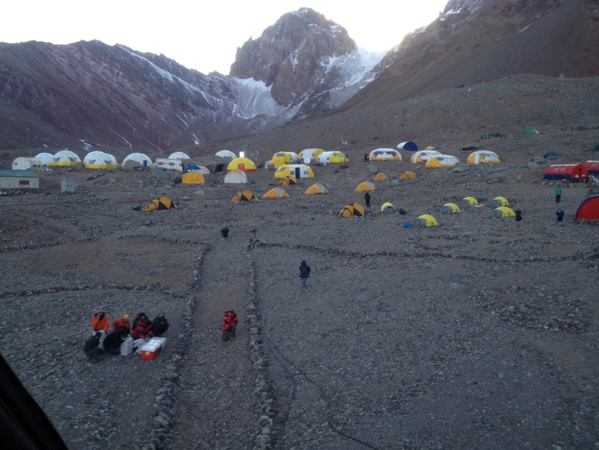 Tents at Base Camp