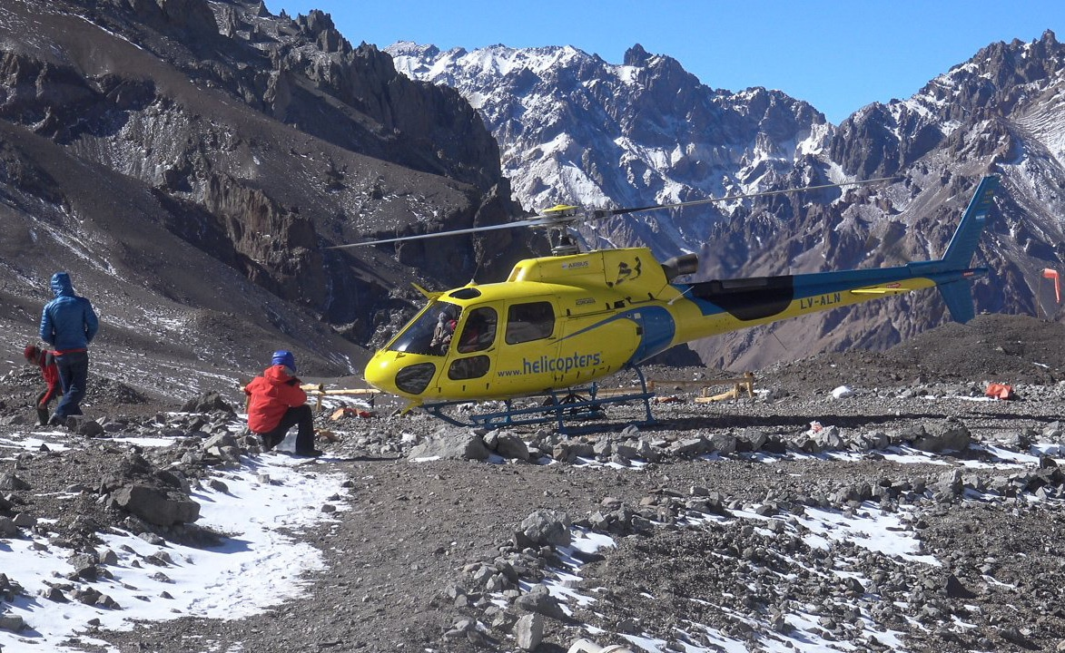 Helicopter Aconcagua
