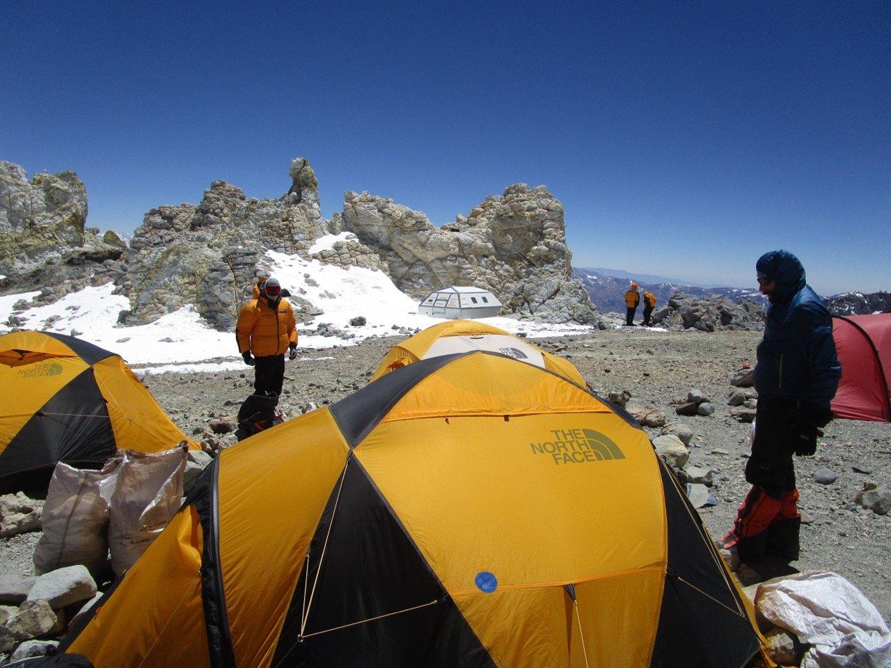 Tent Camp Colera