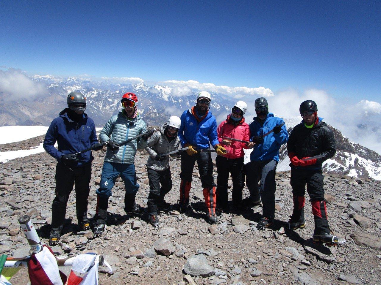 Summit Aconcagua